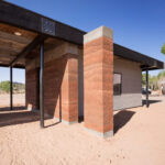 Rammed earth for DesignBuildBLUFF Fire Mesa project
